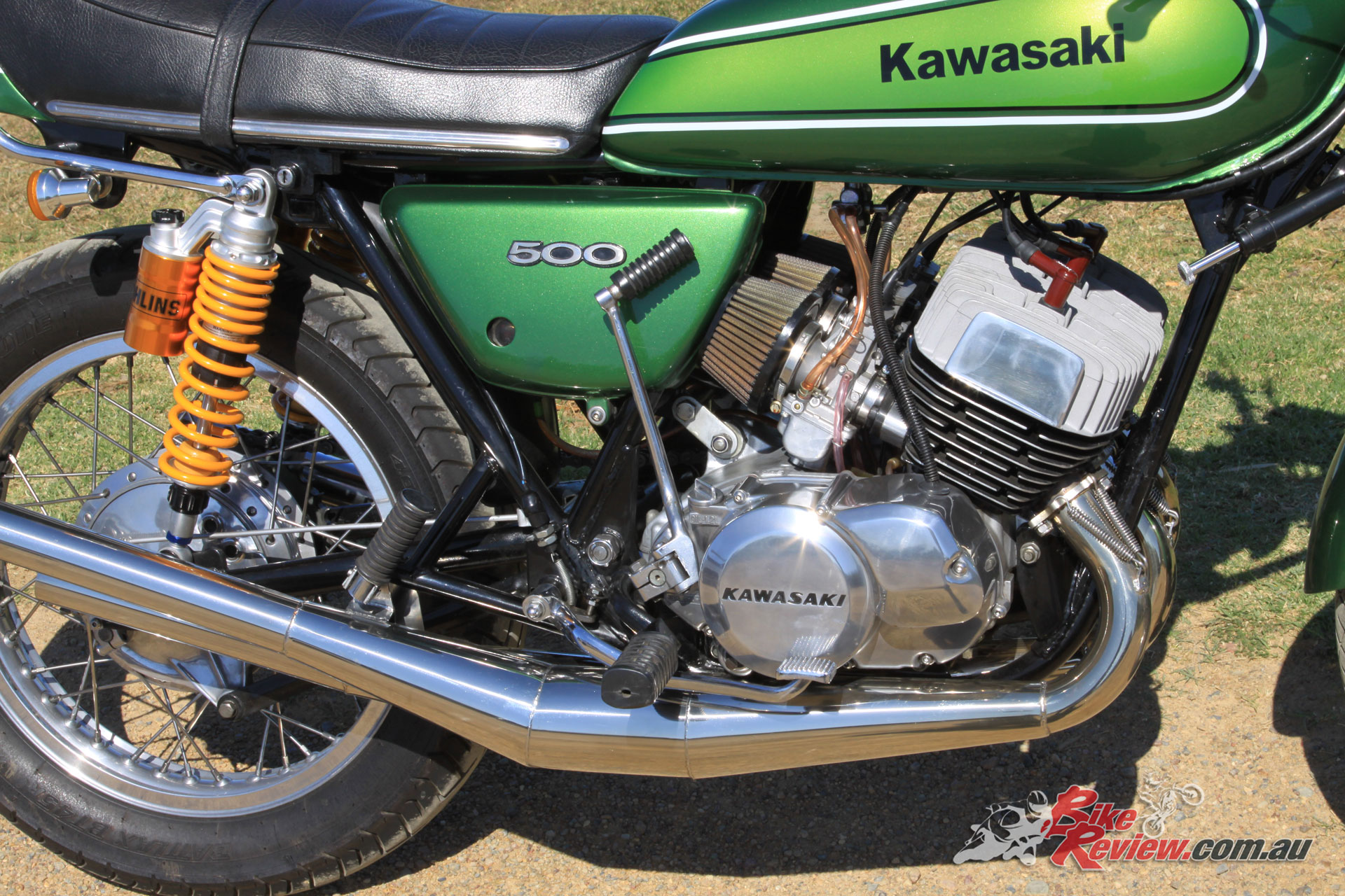 Classic Restoration: 1974 Kawasaki H1 500 - Bike Review