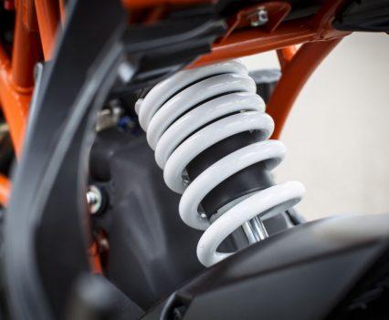 2017 KTM RC 390 rear shock