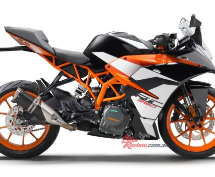The 2017 KTM RC 390 is well worth looking at it you're after a smaller capacity LAMS option, like in the 300cc region, or alternatively if you're after 600 LAMS performance in a lighter package.