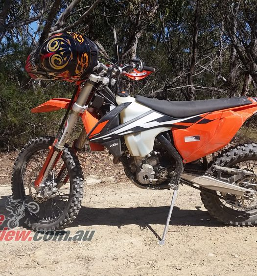 BikeReview Project EXC-F 350 KTM copy