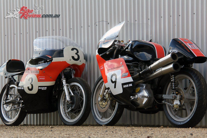 The Harley Davidson Xr 750: Custom Classic: Dynamic Duo