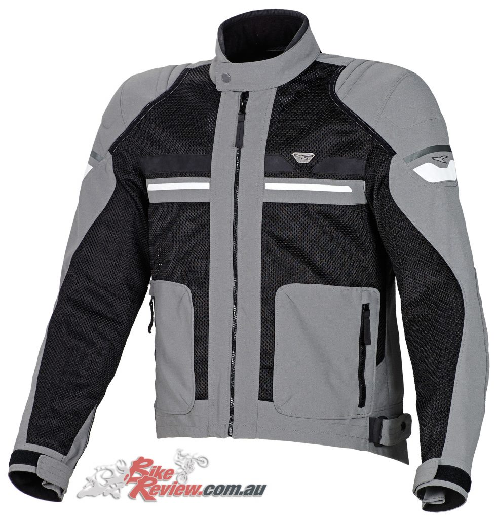 Men's Macna Rush Jacket in Black/Grey