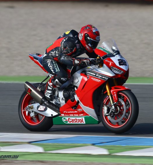 Jason O'Halloran - Image courtesy of Honda Racing BSB