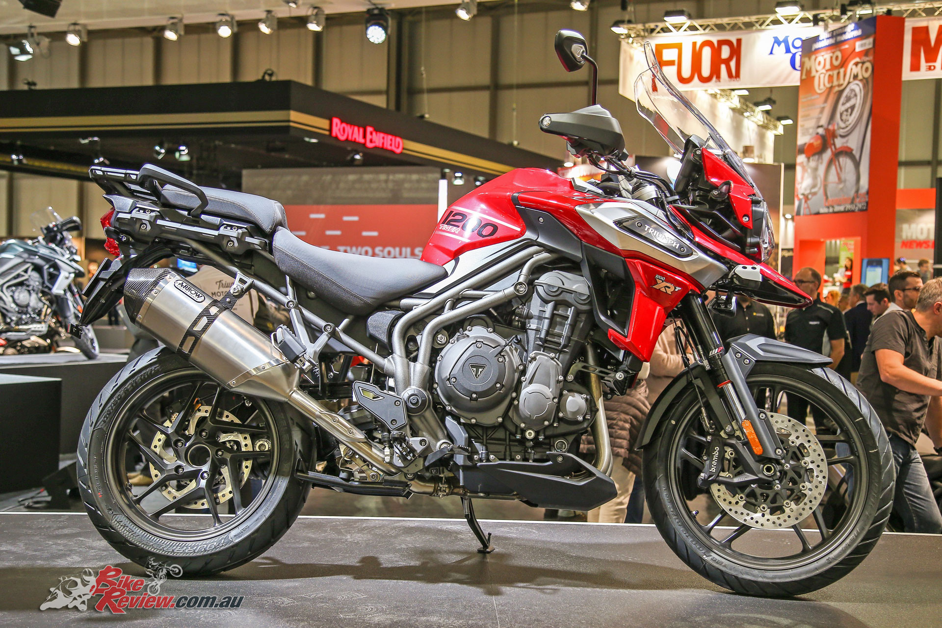 triumph launch new 2018 tiger 1200xc xr bike review. Black Bedroom Furniture Sets. Home Design Ideas