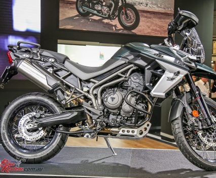Triumph Motorcycles at EICMA