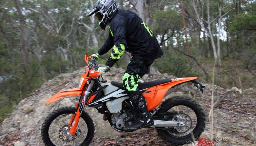 Staff Bike Update: KTM 350 EXC-F, Pirelli Rubber