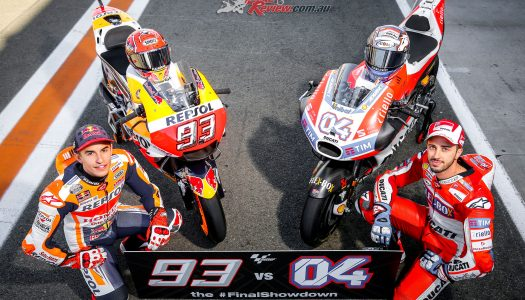 MotoGP showdown heads to Valencia
