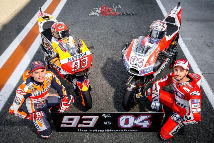 Marquez and Dovizioso