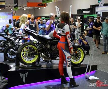 Yamaha's Sydney Motorcycle Show display last event