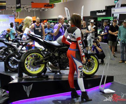 Yamaha's Sydney Motorcycle Show display last event