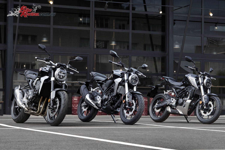 2018 Honda CB1000R, CB300R, CB125R