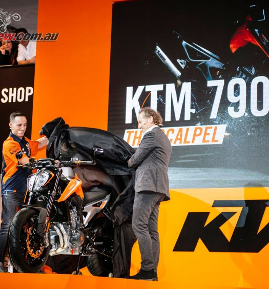 KTM unveil new models at EICMA
