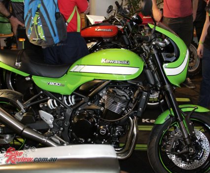 The Z900RS Cafe offers a cafe racer inspired option
