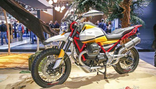 Moto Guzzi unveils updates for 2018 models