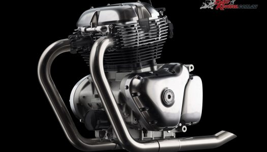New Royal Enfield 650-twin powerplant unveiled