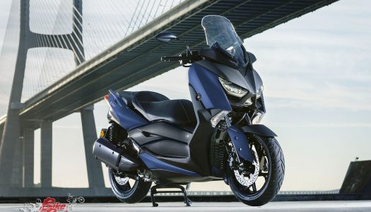 Yamaha announce updated MAX scooter range at EICMA