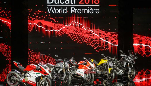 Ducati 2018 Models Unveiled in Milan
