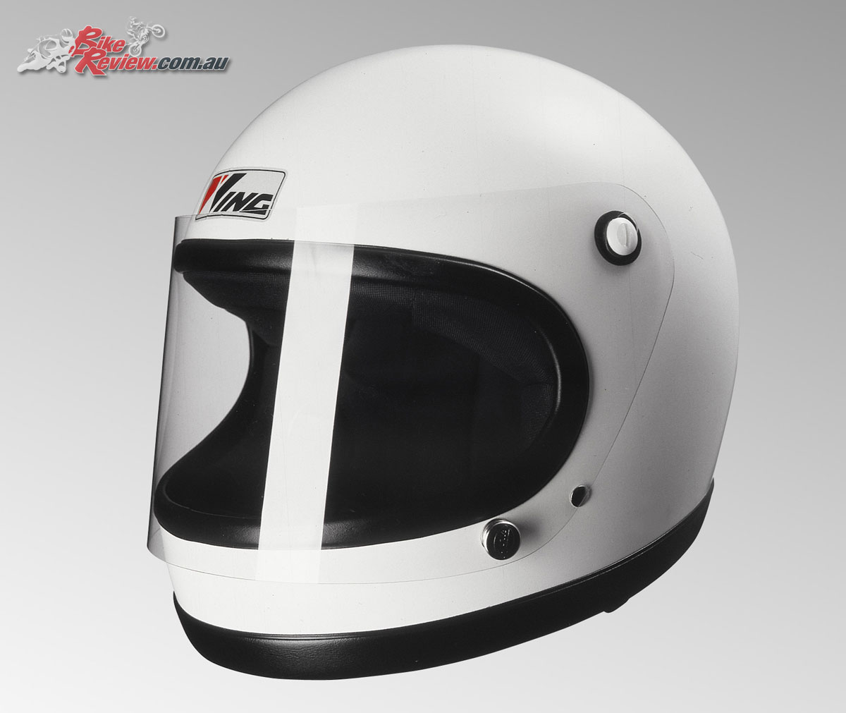 The FF-1 was one of the brand's first helmets