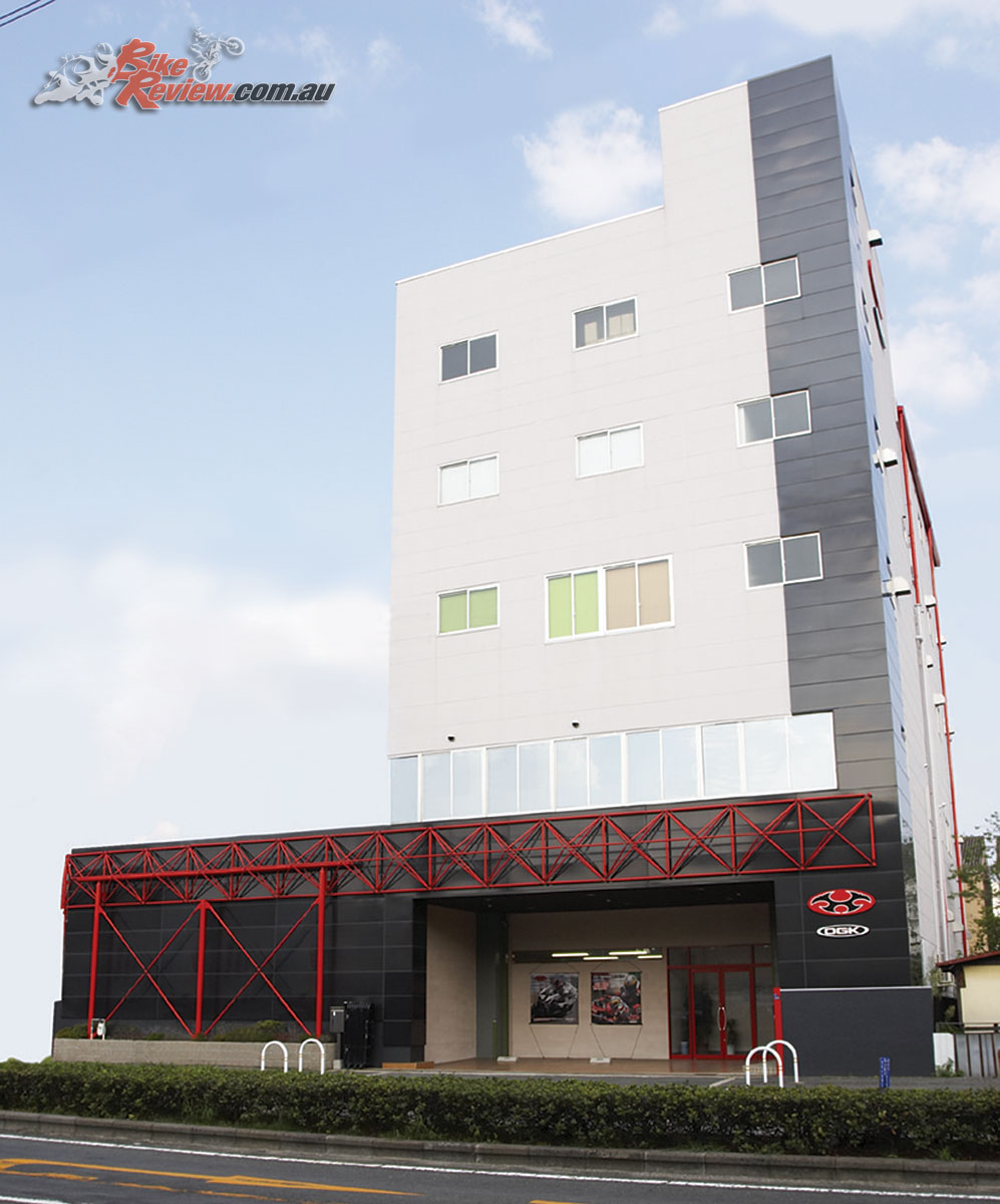 The Nagata Head Office opened in 2006, the same year the company became known as OGK Kabuto