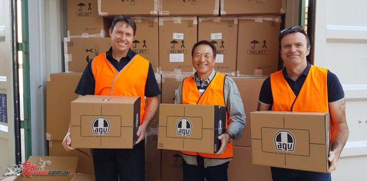 Link International becomes official Australian AGV importer