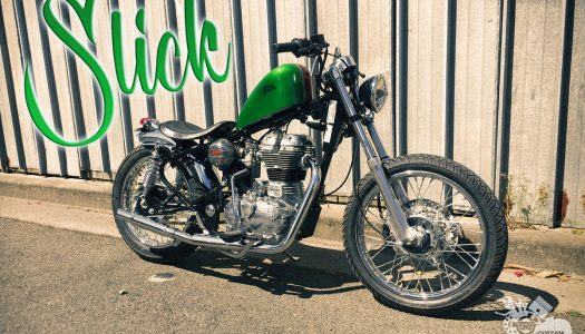 2017 Royal Enfield Custom Bike Build Off Run & Won