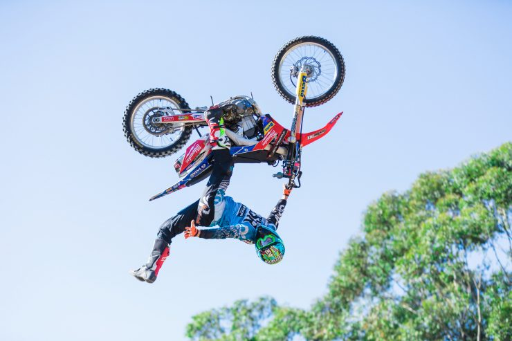 Showtime FMX will entertain visitors to the Sydney Motorcycle Show.