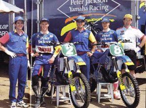 CDR Yamaha Team in 1993