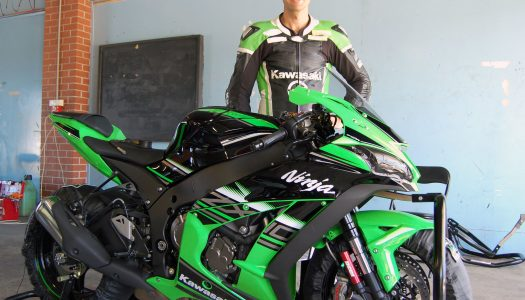 Staring to race with Kawasaki BCperformance in ABSK