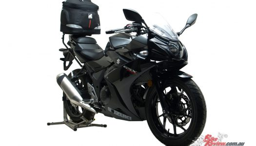 New Product: Ventura Luggage for Suzuki's GSX250R