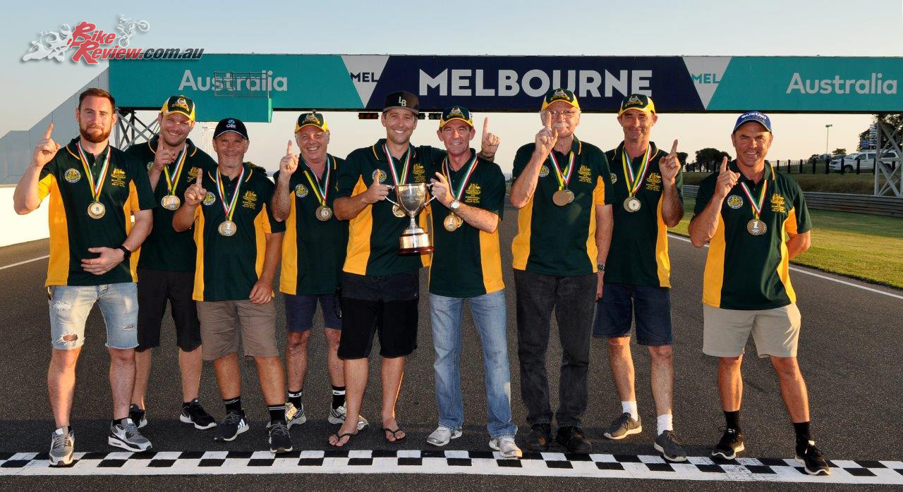 Team Australia took victory - Image by Russell Colvin