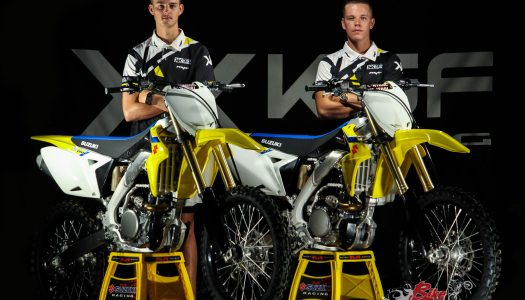 Suzuki partners KSF Racing For 2018 MX & SX