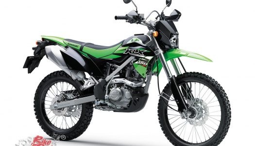 Kawasaki KLX150BF SE rear rack now available
