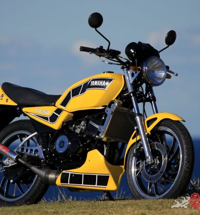 The end result is a breathtaking offering in the Kenny Roberts colours.