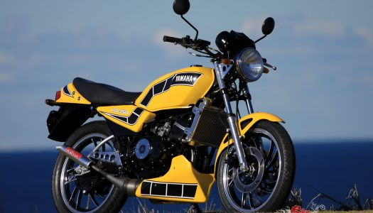 Two-Stroke Tuesday: Classic Restoration, Yamaha RD350LC