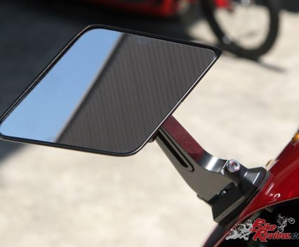 Retractable mirrors