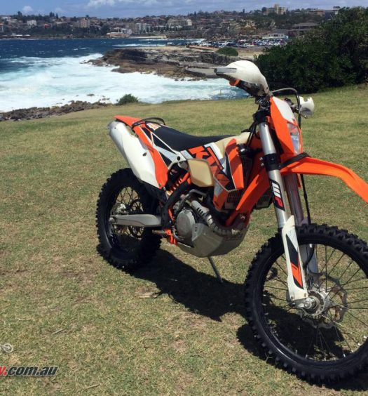 Mark's older KTM 500 EXC-F is now for sale