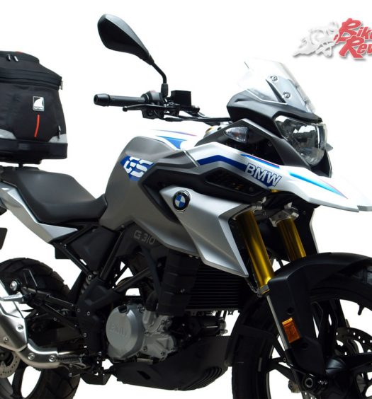 Ventura Luggage is now available for the BMW G 310 GS