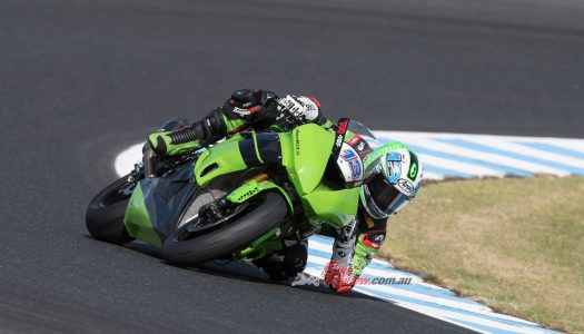 Melandri tops day one of WorldSBK testing, Phillip Island