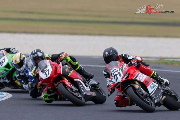 Herfoss and Bayliss - Image by TBG Sport