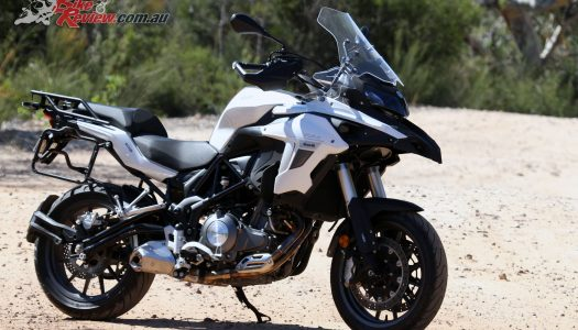 Free panniers on Benelli TRK502 – Limited time