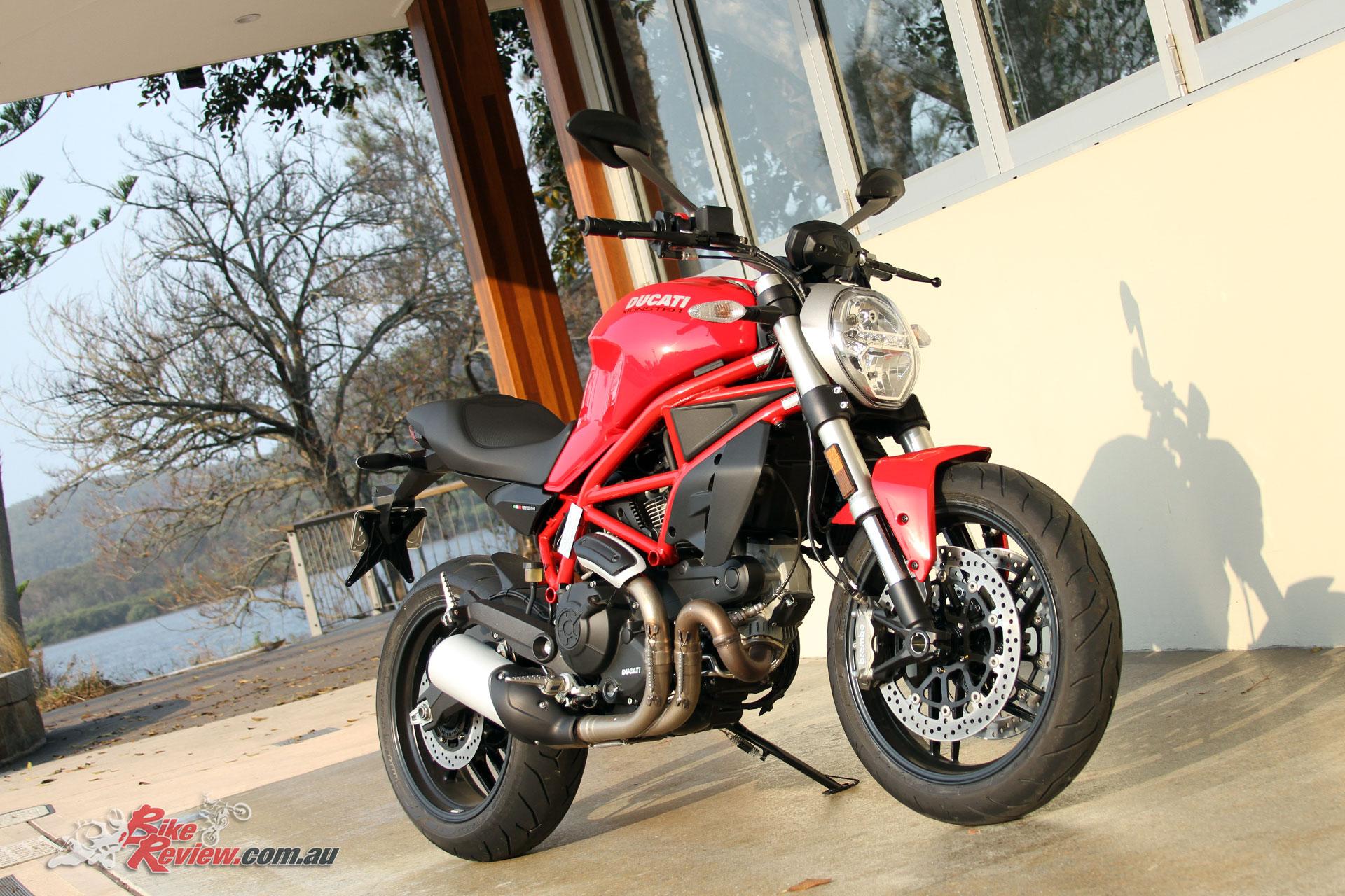 Review 2018 Ducati Monster 659 Lams Bike Review