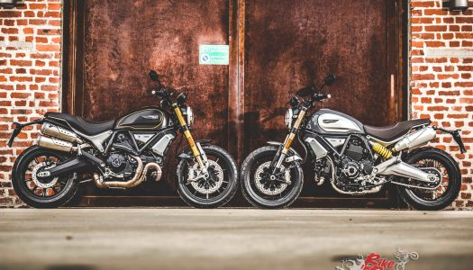 The first Ducati Scrambler 1100 rolls off production
