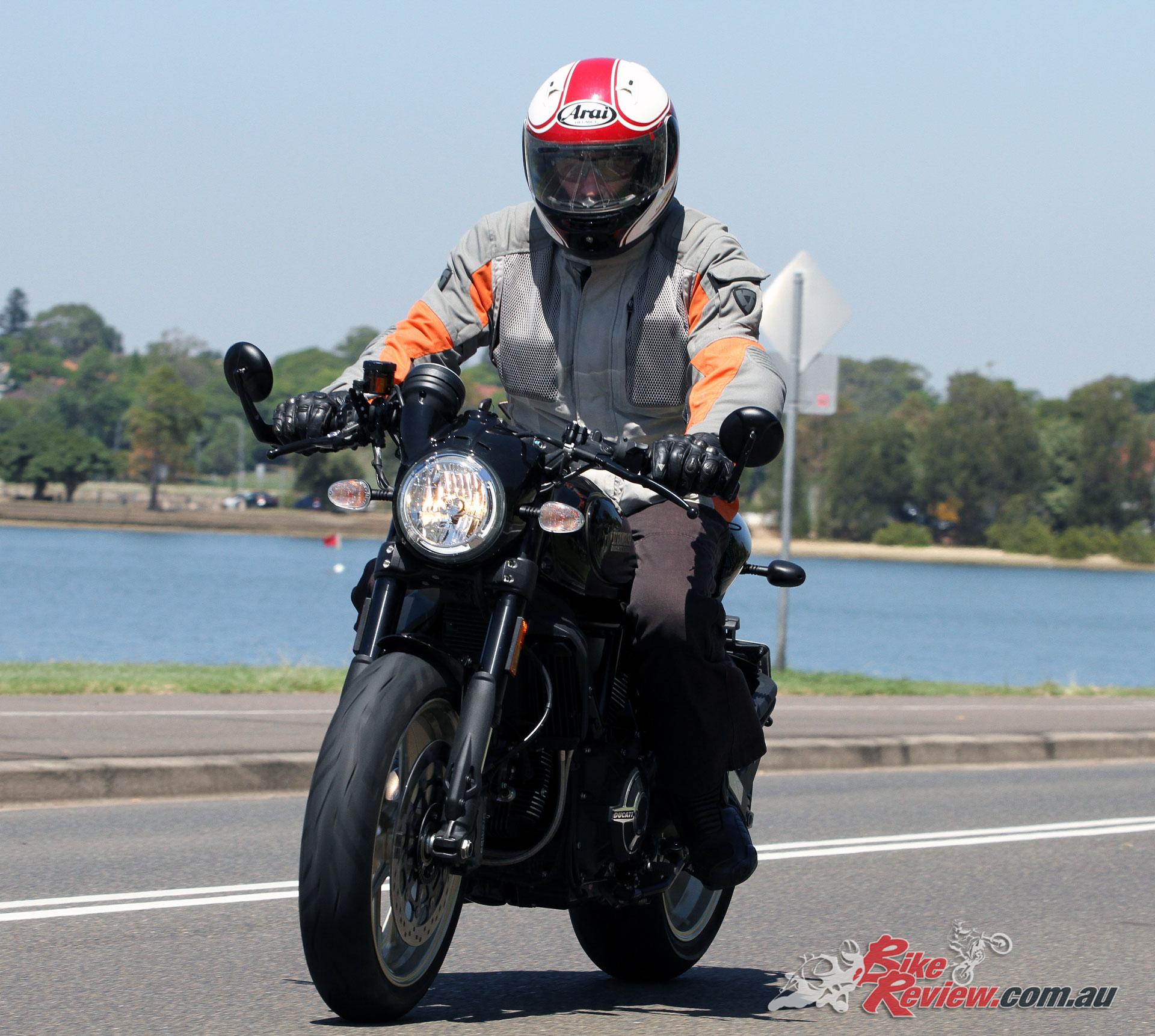 2018 Ducati Scrambler Icon Seat Height