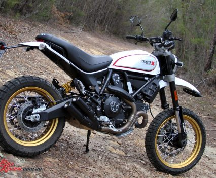 The Scrambler Desert Sled's looks are a real selling point, looking the business