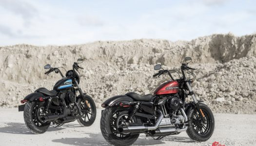 Harley-Davidson Forty-Eight Special & Iron 1200 Sportsters