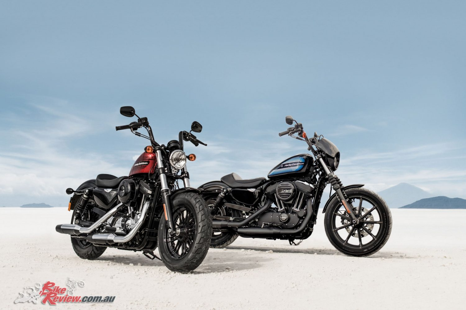 2018 Harley-Davidson Iron 1200 and Forty-Eight