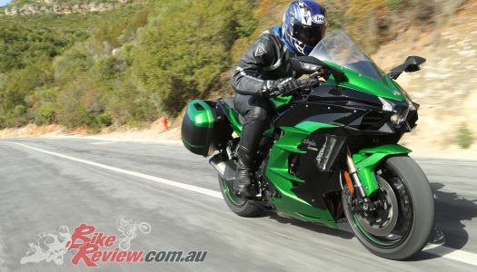 World Launch: 2018 Kawasaki Ninja H2 SX SE First Ride!