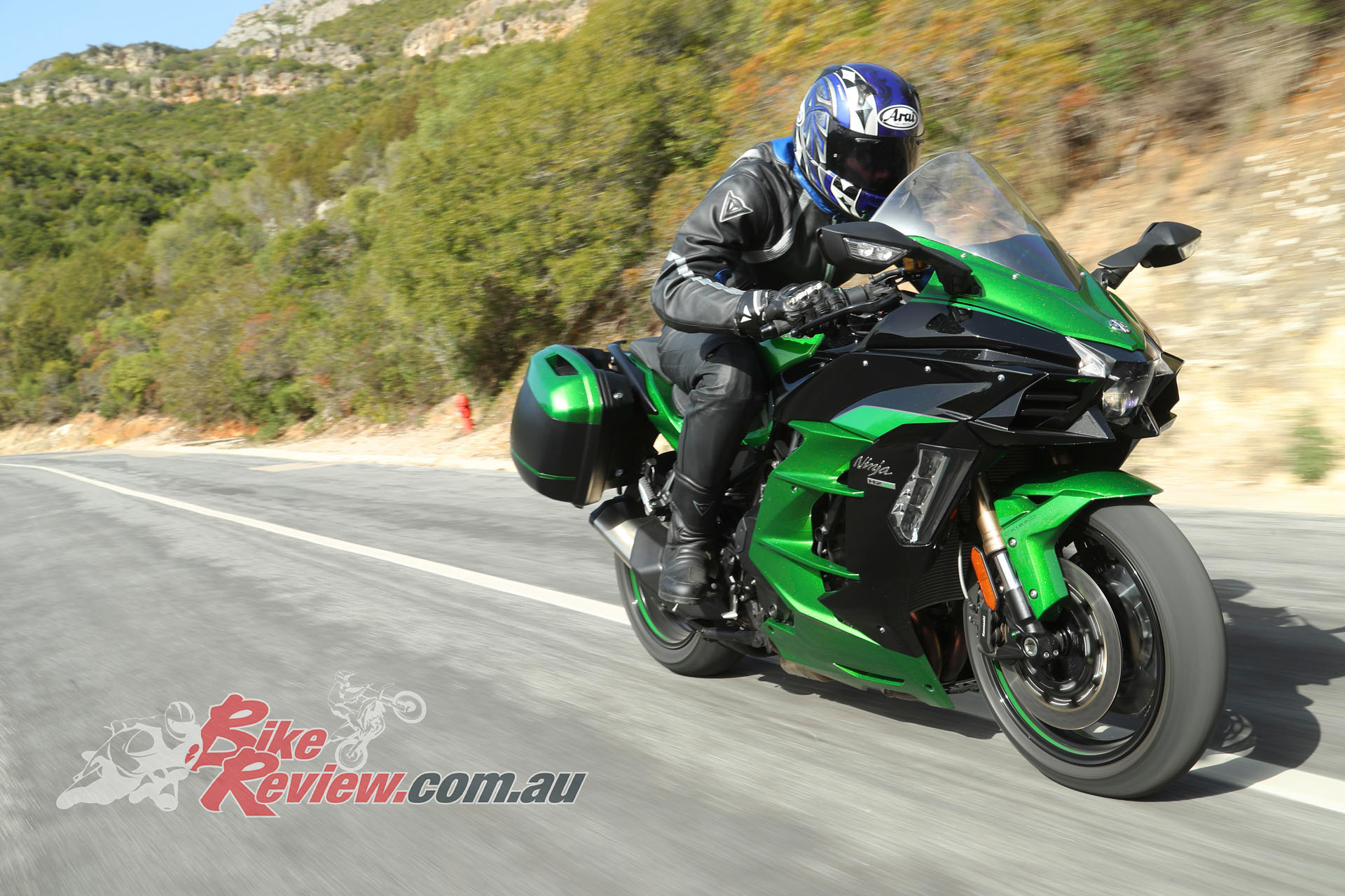 World Launch 2018 Kawasaki Ninja H2 Sx Se First Ride Bike Review