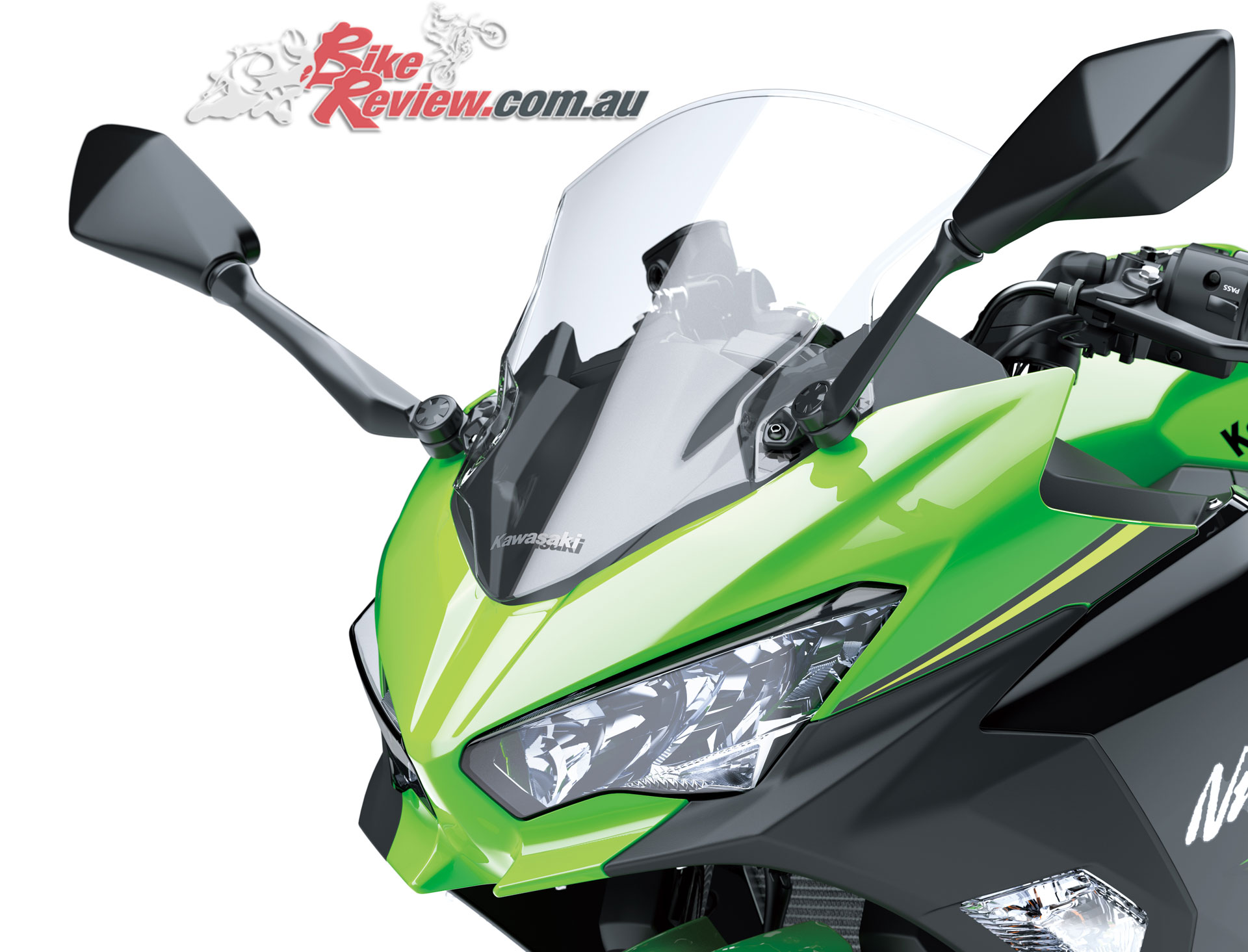 Review 2018 Kawasaki Ninja 400 Australian Track Launch