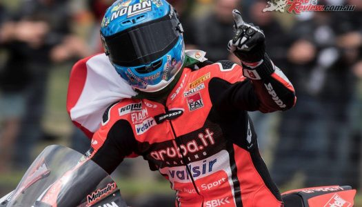 Melandri wins WorldSBK opener at Phillip Island